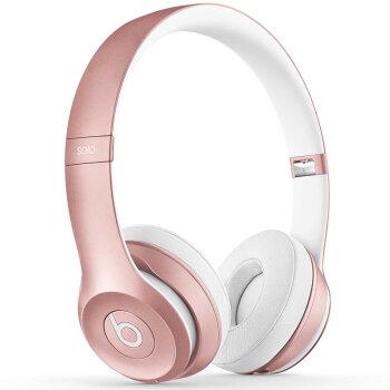 Beats Solo3 Wireless 蓝牙无线 头戴式耳机 - 玫瑰金色