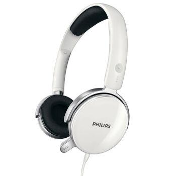 飞利浦(PHILIPS)耳机 耳麦 电脑 游戏 头戴式